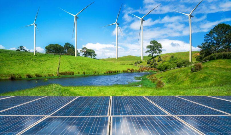 Panneaux solaires et eolien