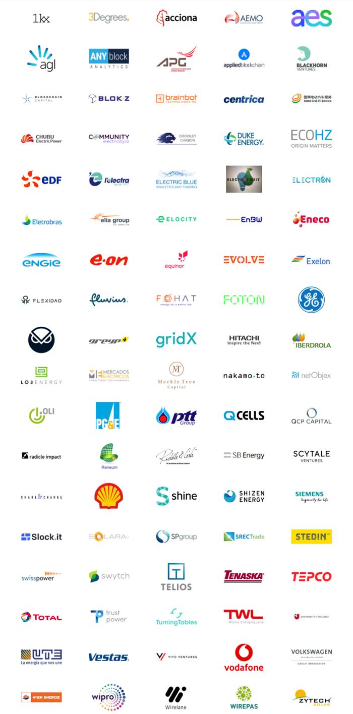 partenaire energy web token shel total edf engie