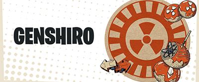 Genshiro logo Kusama equilibrium