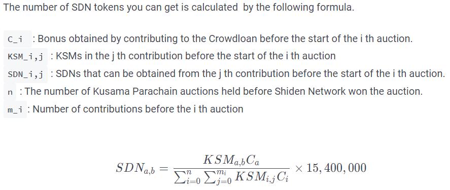 Token SDN Shiden network