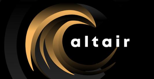 Altair logo centrifuge
