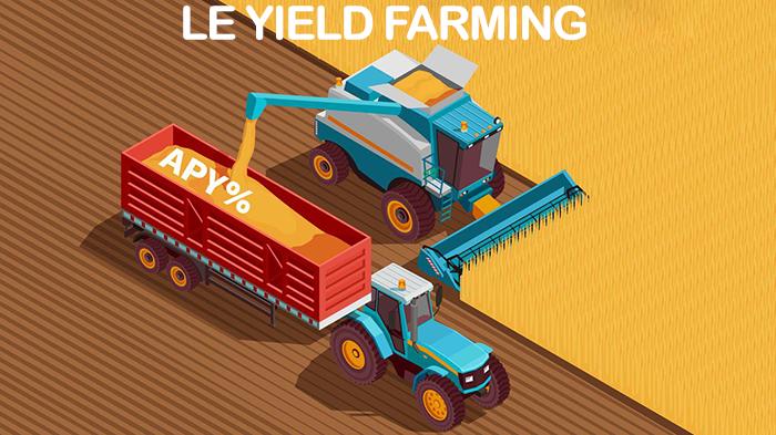 Yield farming DeFi crypto